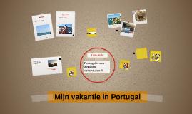 Mijn vakantie in Portugal