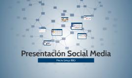 Presentación Social Media