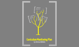 Curriculum Monitoring Plan