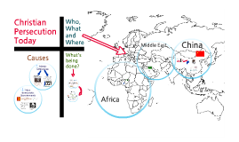 Modern Day Christian Persecution