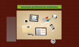 Copy of encuesta preferencias musicales