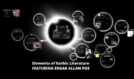 Gothic Lit w/Edgar Allan Poe