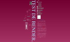 Copy of Test de Bender-Koppitz