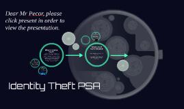 Identity Theft PSA