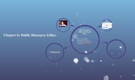 Chapter 6: Public Discourse Ethics