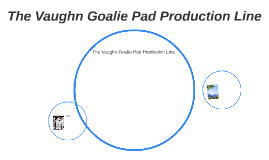 The Vaughn Goalie Pad Production Line