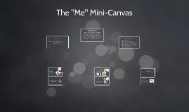 "The ""Me"" Mini-Canvas"