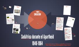 Sudáfrica durante el Apartheid