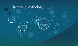 Themes and Symbols in Greek Mythology
