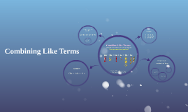 Copy of Combining Like Terms