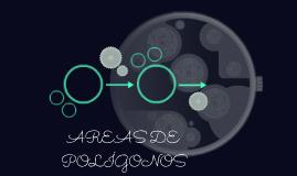 AREAS DE POLÍGONOS