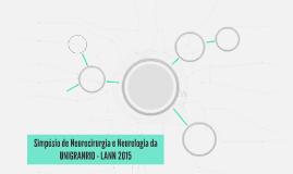 Simpósio de Neurocirurgia e Neurologia da UNIGRANRIO - LANN