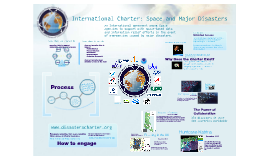 International Charter 'Space and Major Disasters' - UK Edition