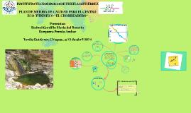 """Copy of PLAN DE MEJORA DE CALIDAD PARA EL CENTRO ECOTURISTICO """"EL CH"""