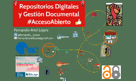 Taller de  Repositorios Digitales y Gestión Documental #AccesoAbierto