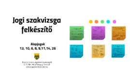 Szakvizsga II. (október 24.)