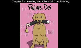 Chapter 6 : Learning and Classical Conditioning