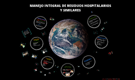MANEJO INEGRAL DE RESIDUOS HOSPITALARIOS Y SIMILARES