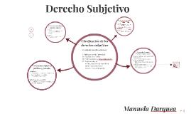 Derecho Subjetivo - Clasificación