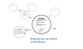 Exposé sur un article scientifique