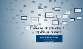 MANUAL DE ATENCIÓN Y SERVICIO AL CLIENTE