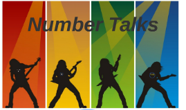 Aug. 7th Number Talks