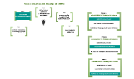 PASO 2: ORGANIZAR EL TRABAJO DE CAMPO