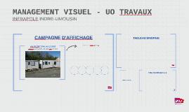 MANAGEMENT VISUEL - UO TRAVAUX