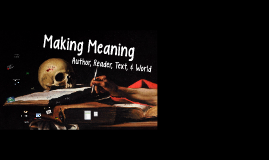 LCT - Making Meaning