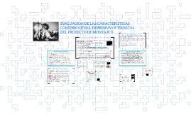 EVALUACIÓN DE LAS CARACTERÍSTICAS COMUNICATIVAS, EXPRESIVAS