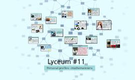 Lyceum #11 maths