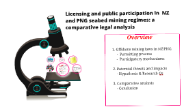 PNG/NZ Licensing & Participation: a comparative legal analysis