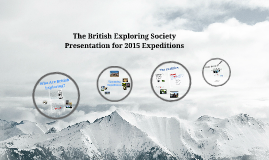(ACM Copy) The British Exploring Society