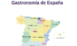 Gastronomía de España