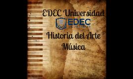 EDEC U - Historia del Arte (Música)