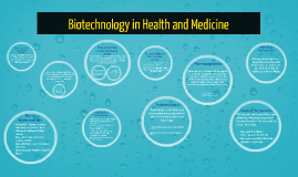 Copy of Biotechnology  Health and Medicine