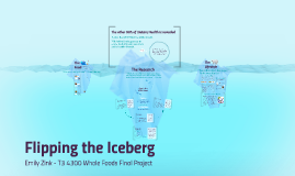 Flipping the Iceberg