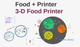 Food + Printer