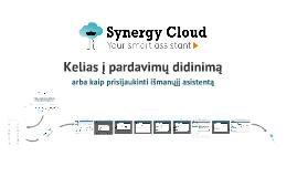 Synergy Cloud - kelias į pardavimų didinimą + Klientai v2