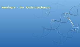 Der Evolutionsbeweis