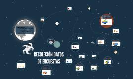RECOLECIÓN DATOS DE ENCUESTAS