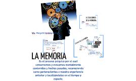 EL SISTEMA DE LA MEMORIA
