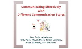 Copy of Communication Styles