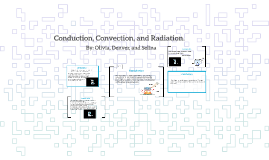 Conduction, Convection, and Rradation.