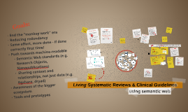 Living Systematic Reviews- HelsIT