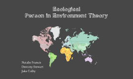 Ecological/ Person In Environment Theory