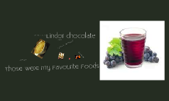 my Favourite foods
