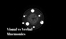 Visual vs Verbal Mnemonics