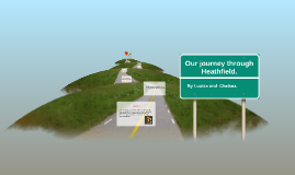 Our journey through Heathfield.