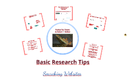 Basic Research Tips-Web